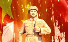 红金大气3.5学雷锋纪念日党政机关部门组织开展学雷锋H5模板缩略图