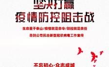 单位企业政府机关抗击疫情宣传总结H5模板缩略图