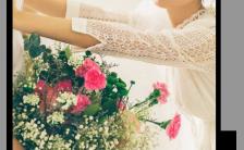 温馨浪漫文艺婚礼邀请函H5模板缩略图