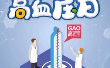 全国高血压日公益宣传义诊活动宣传H5模板缩略图
