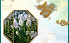 绿色春分节气企业宣传公司推广营销H5模板缩略图