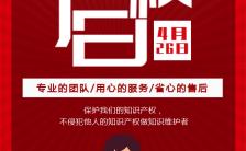 红色简约 4.26世界知识产权保护日H5模板缩略图