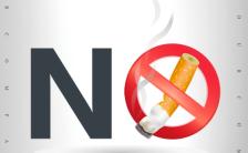 世界无烟日禁烟宣传倡导H5模板缩略图