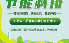 绿色低碳环保节能减排公益宣传H5模板缩略图