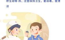 简约风健康小知识预防流感疫情公益宣传海报缩略图