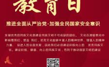 4.15全民国家安全教育日手机海报缩略图