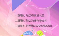 简约渐变汽车维修门店乔迁手机海报缩略图