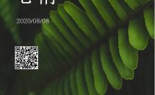 小清新企业微商个人盛夏心情日签宣传手机海报缩略图
