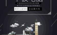 黑色大气高端平板数码科技宣传海报缩略图