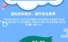 3.29中小学安全教育日强化安全意识教育培训海报缩略图