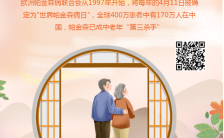 4.11世界帕金森日健康护理宣传手机海报缩略图