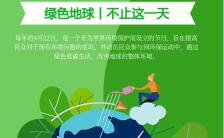 4.22世界地球日公益宣传环境保护宣传手机海拔缩略图