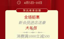 红色简约大气周年庆典宣传海报缩略图