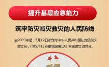 5.12防灾减灾日提升基层应急能力手机海报缩略图