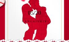 红色浪漫520情人节促销活动手机海报缩略图
