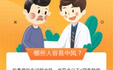 父亲节男性医疗健康科普手机海报缩略图