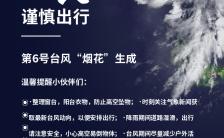 台风降雨暴雨温馨提示手机海报缩略图