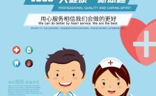 高端健康理疗体检机构宣传H5模板缩略图