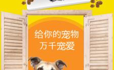 简约唯美宠物店宠物医院宣传模板H5模板缩略图