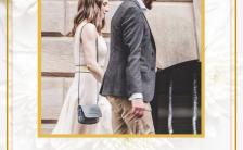 高端时尚简约欧美风婚礼请柬邀请函H5模板缩略图
