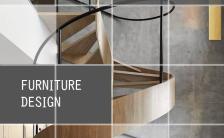 设计方块及色块作设计元素增加时尚感家具室内设计产品推广缩略图