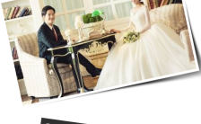 时尚现代个性婚礼邀请函h5模版缩略图