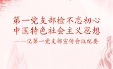 红色庄严党建党课文化学习H5模板缩略图