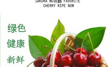 绿色健康水果蔬菜类宣传H5模板缩略图