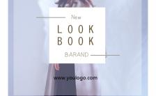 高端品牌女装服饰公司宣传简介H5模板
