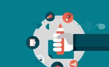 公司宣传企业简介互联网科技H5通用模板缩略图