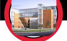 时尚红与黑风格大学高校成人教育招生简章H5模板缩略图