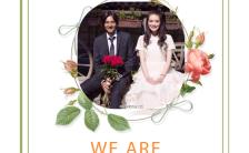 函花瓣边框小清新婚礼喜帖邀请涵H5模板缩略图