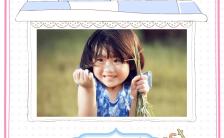 可爱温馨宝宝满月生活记录H5模板缩略图