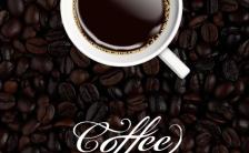 经典精致极简咖啡店宣传下午茶咖啡活动促销缩略图