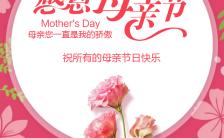 欢度母亲节企业个人通用节日贺卡H5模板缩略图