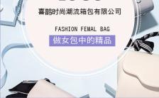 简约专业高端箱包女包公司品牌画册通用H5模板缩略图