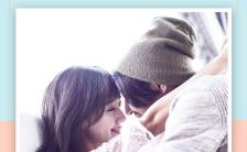 清新文艺情侣恋爱纪念册情侣表白H5模板缩略图