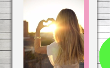 唯美小清新旅游纪念日记情侣闺蜜相册H5模板缩略图
