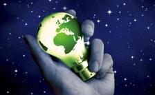 地球一小时节能公益环保H5模板缩略图