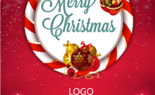 暖心圣诞节活动通用邀请函H5模板缩略图