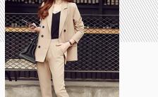 FASHIONBEAUTY时尚简约女装展示H5模板缩略图