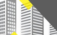 简约商务灰色2019财务数据分析H5模板缩略图