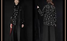 黑金色时尚风格高端大气产品商务展示H5模板缩略图
