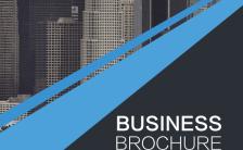 企业文化介绍简介黑蓝风格高端H5模板缩略图
