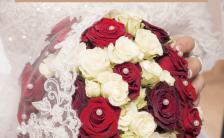 唯美浪漫婚礼写真画册H5模板缩略图