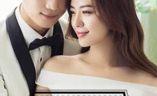 韩式欧美浪漫清新水彩简洁唯美婚礼邀请函H5模板缩略图