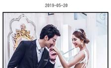 欧美简约欧式时尚浪漫轻奢大气婚礼邀请函缩略图