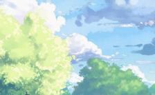 清新夏季海报缩略图