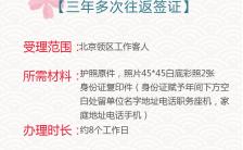 清新文艺日本,旅游,签证,海报背景,樱花手机海报缩略图