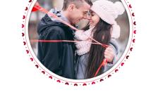 遇见你遇见爱情侣恋爱分享相册手机海报缩略图